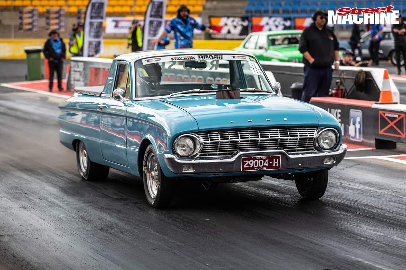 Ford XL ute drag challenge