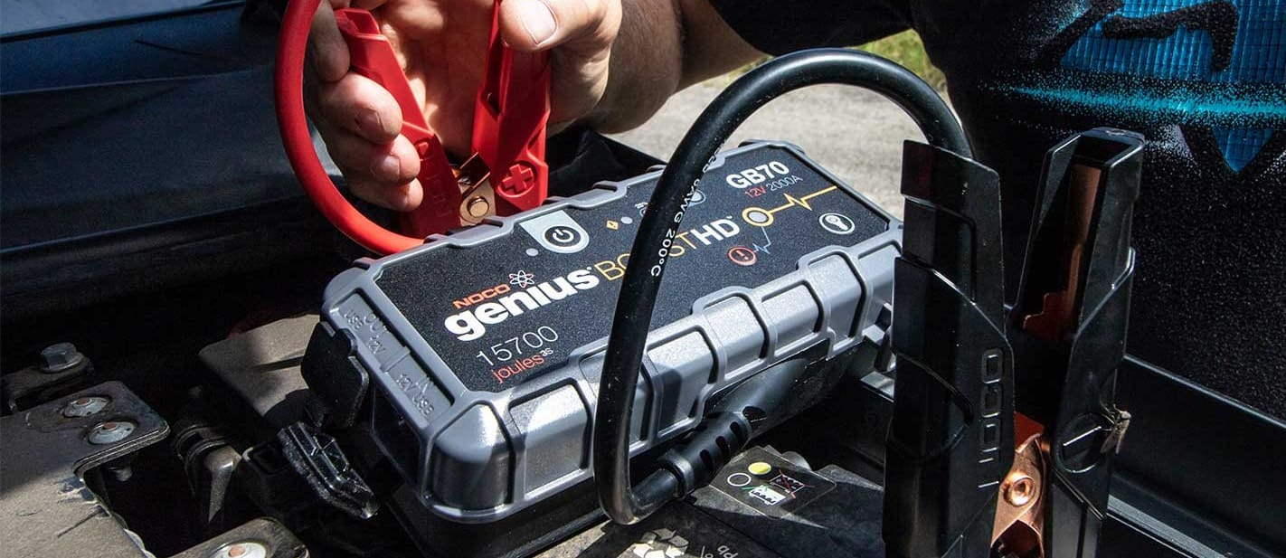NOCO GB70 jump starter pack 4x4 product test