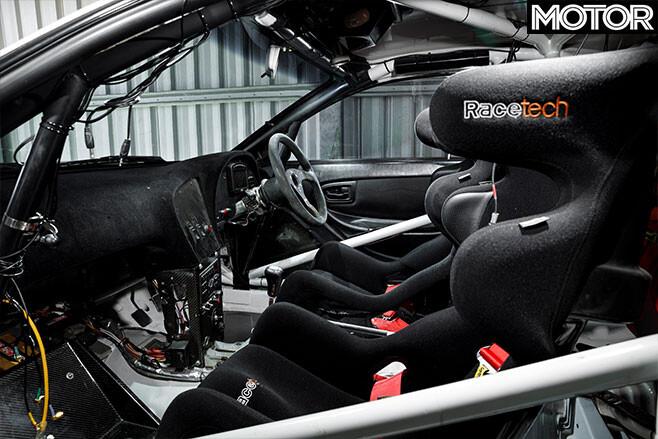 Bates Toyota Celica GT-Four rally car interior