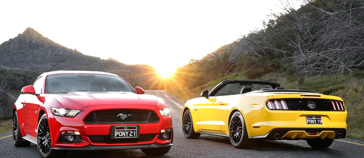 Ford Mustang Coupe GT And Mustang Convertible GT Jpg