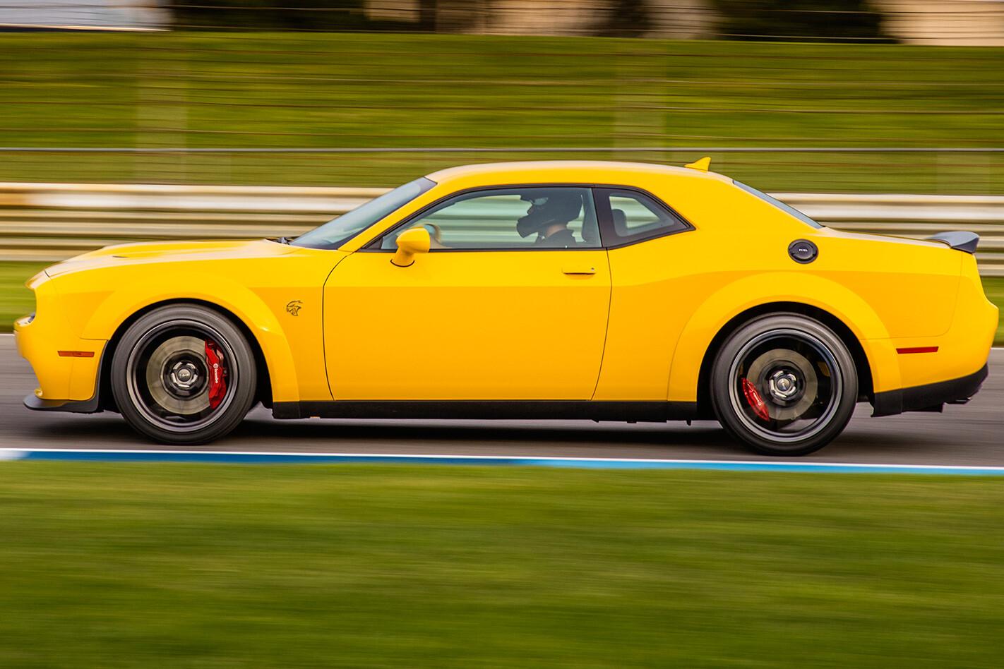 2018 Dodge Challenger Hellcat Widebody side profile