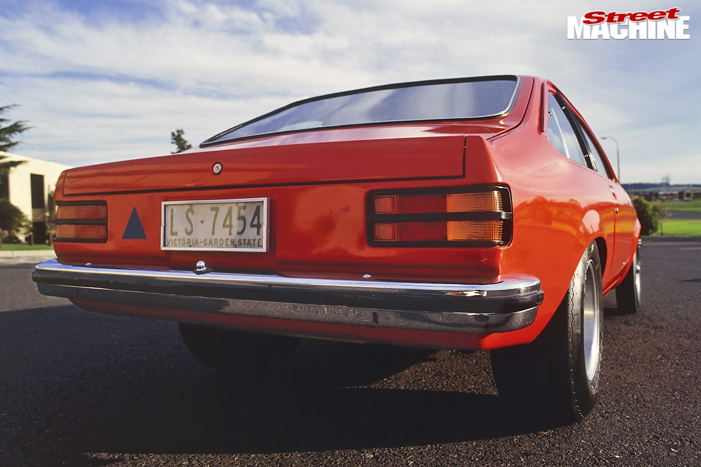 Holden Torana A9X rear