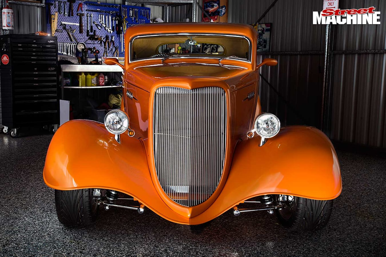 Ford three window coupe front