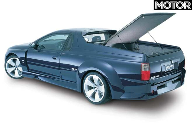 2001 HRT Edition Maloo concept rear tonneau cover