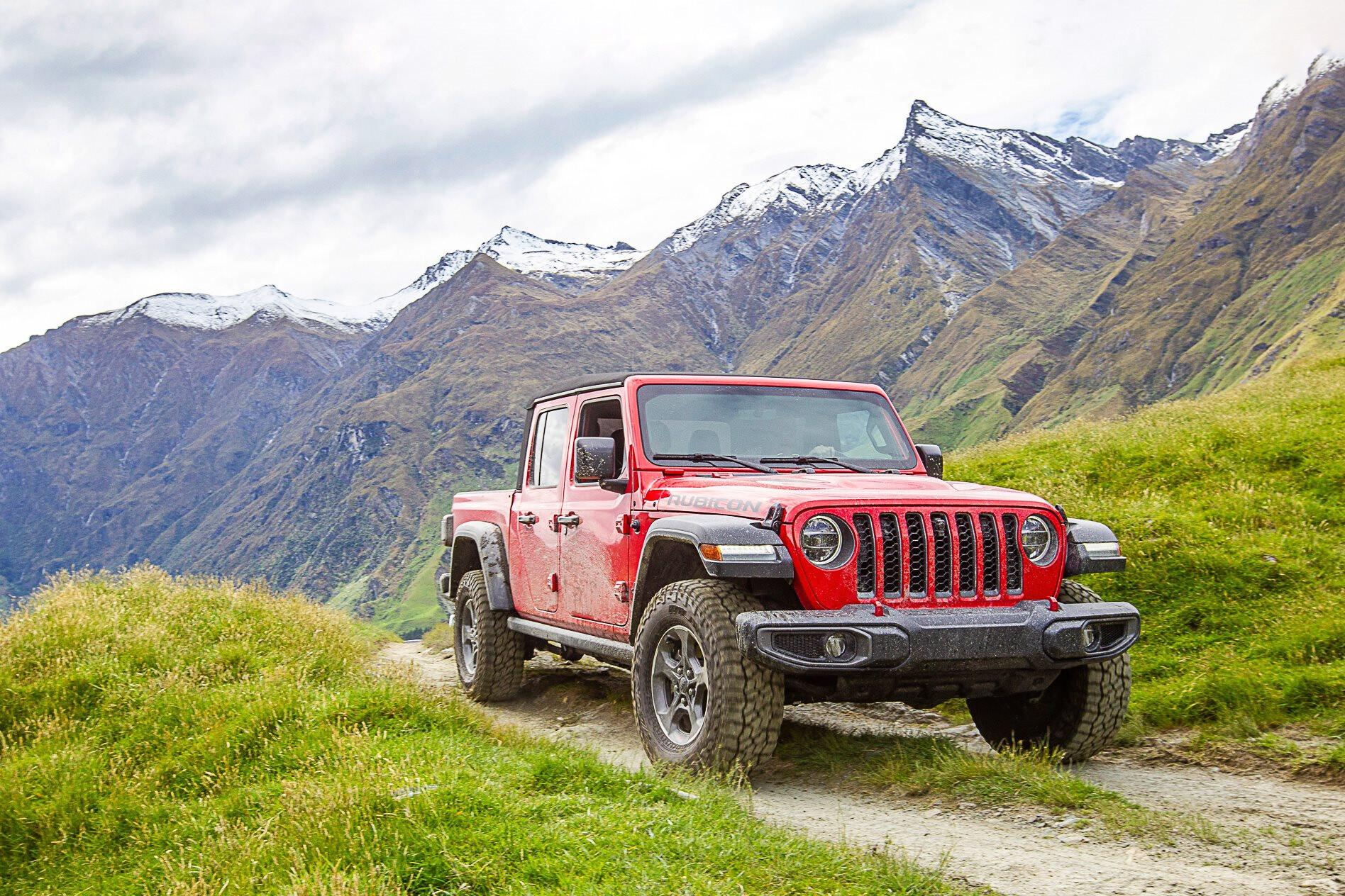Jeep Gladiator 2020 ancap rating