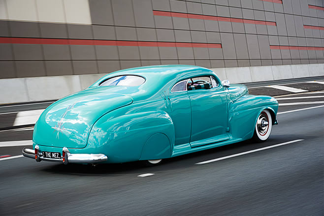 Mercury coupe onroad