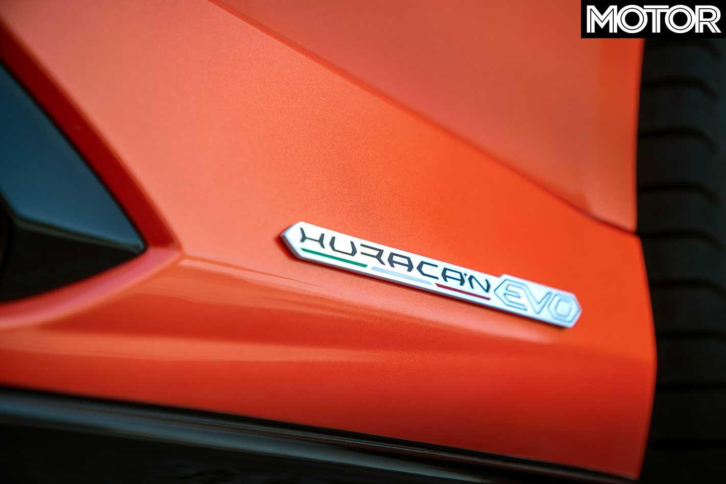 2019 Lamborghini Huracan Evo Side Badge Jpg