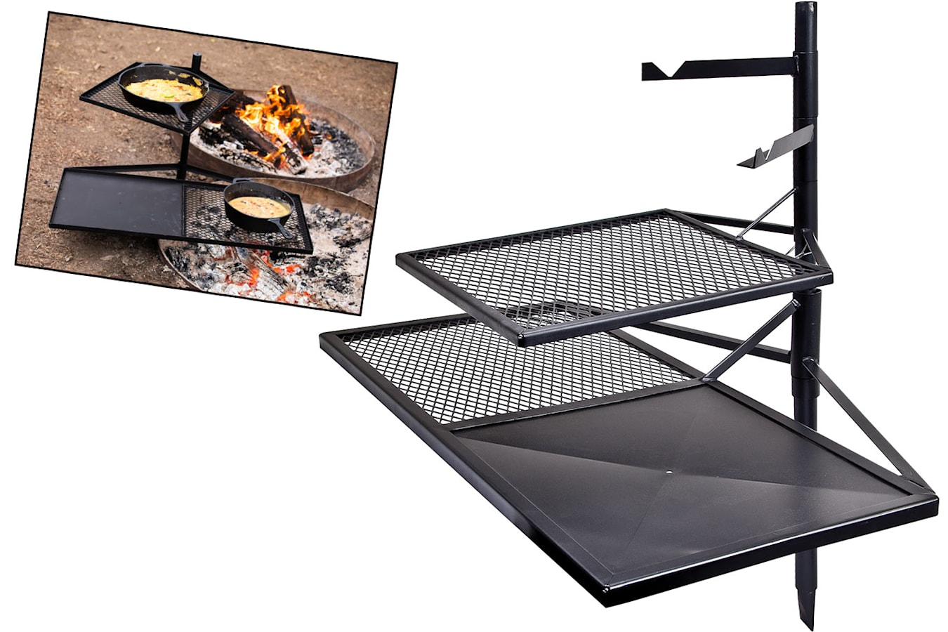 cooking grill combo
