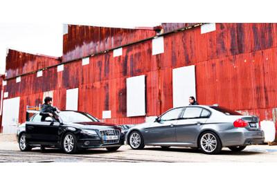Heir Triggers - Audi S4 vs BMW 335i