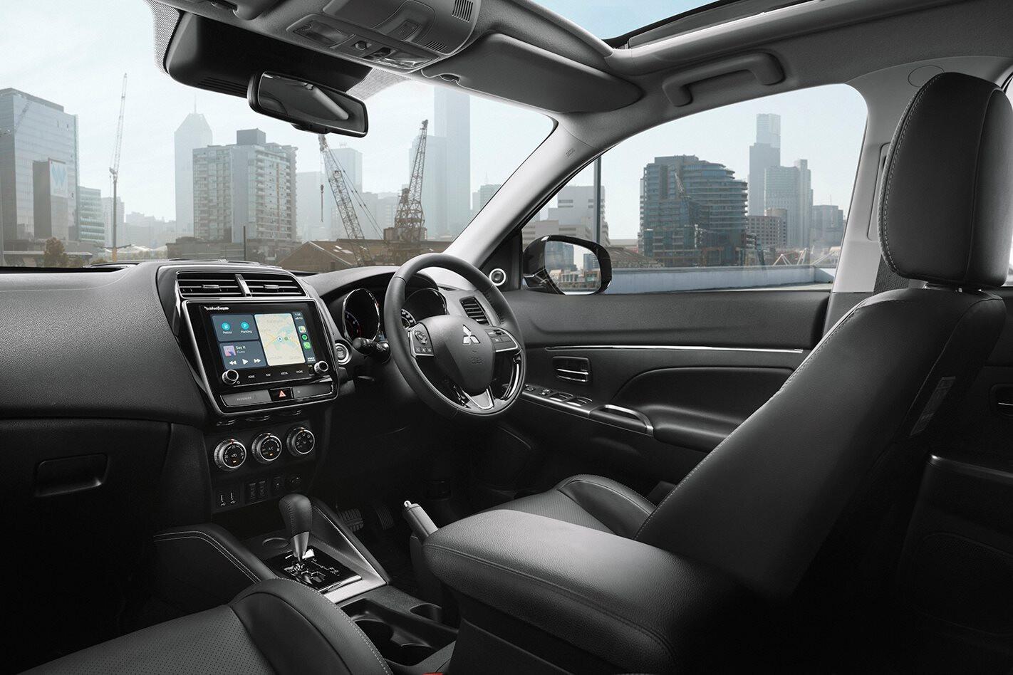 ASX Exceed interior