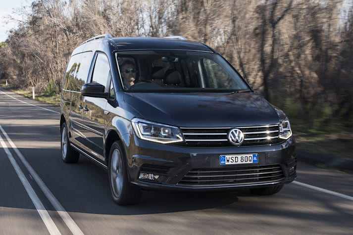 2016 Volkswagen C4 Caddy review