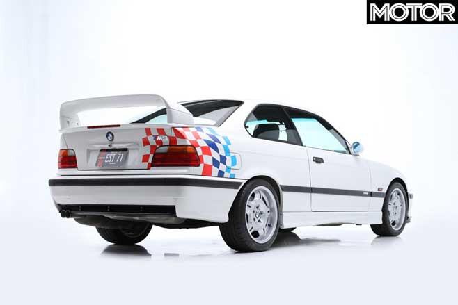 1995 BMW M 3 E 36 Lightweight Rear Jpg