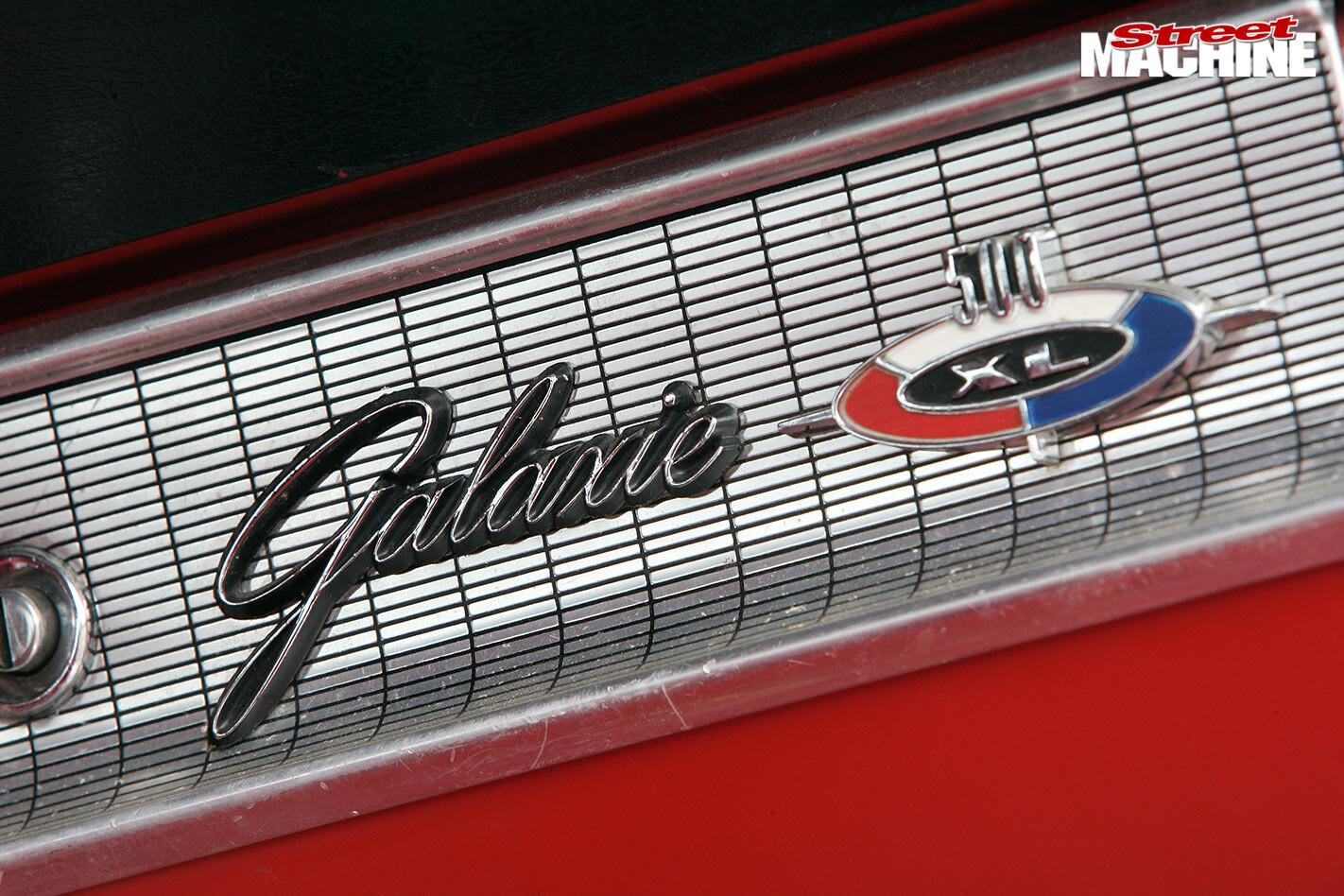 Ford Galaxie XL500 dash