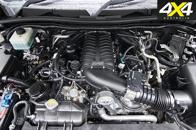 Supercharged -Nissan -Patrol -Y62-engine