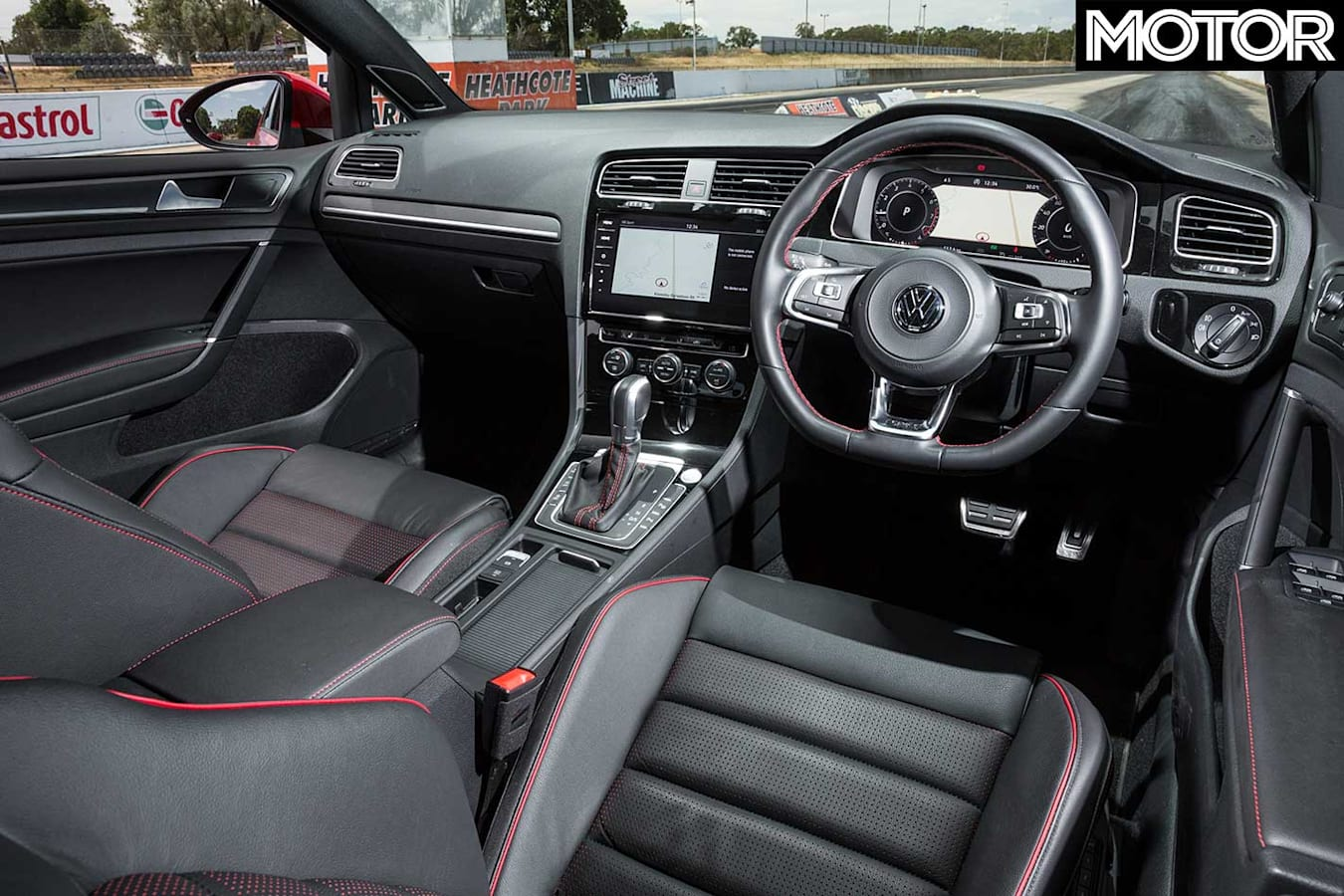 2019 Volkswagen Golf GTI Interior Jpg