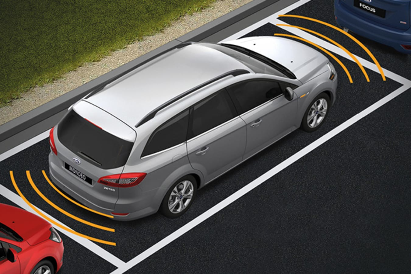 Ford Mondeo Self Parking technology