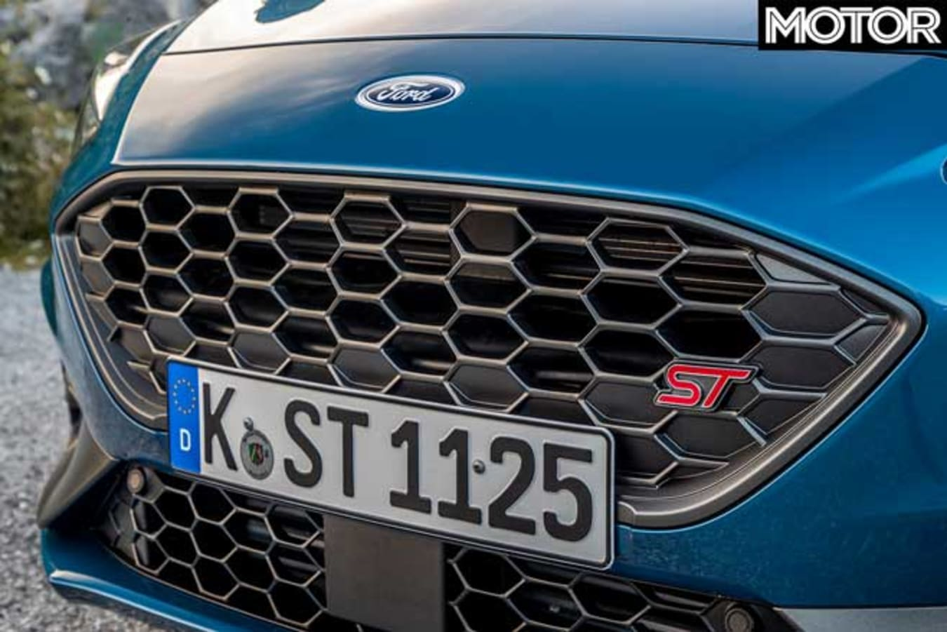 2020 Ford Focus ST Front Grille Jpg