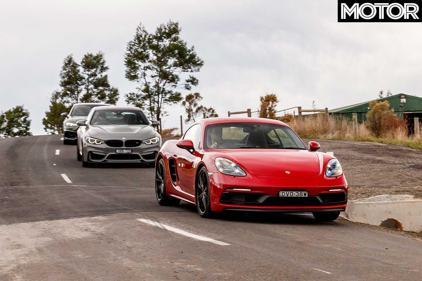 2018 Audi RS 5 V BMW M 4 CS V Porsche 718 Cayman GTS Comparison Results Jpg