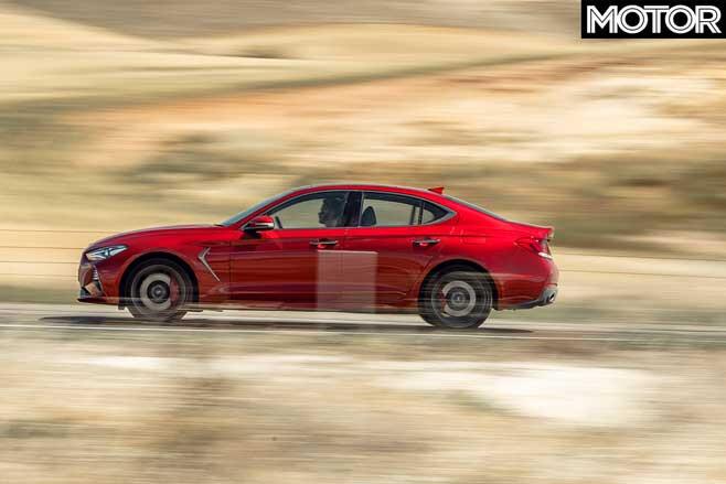 Genesis G 70 Performance Car Of The Year 2020 Road Performance Jpg