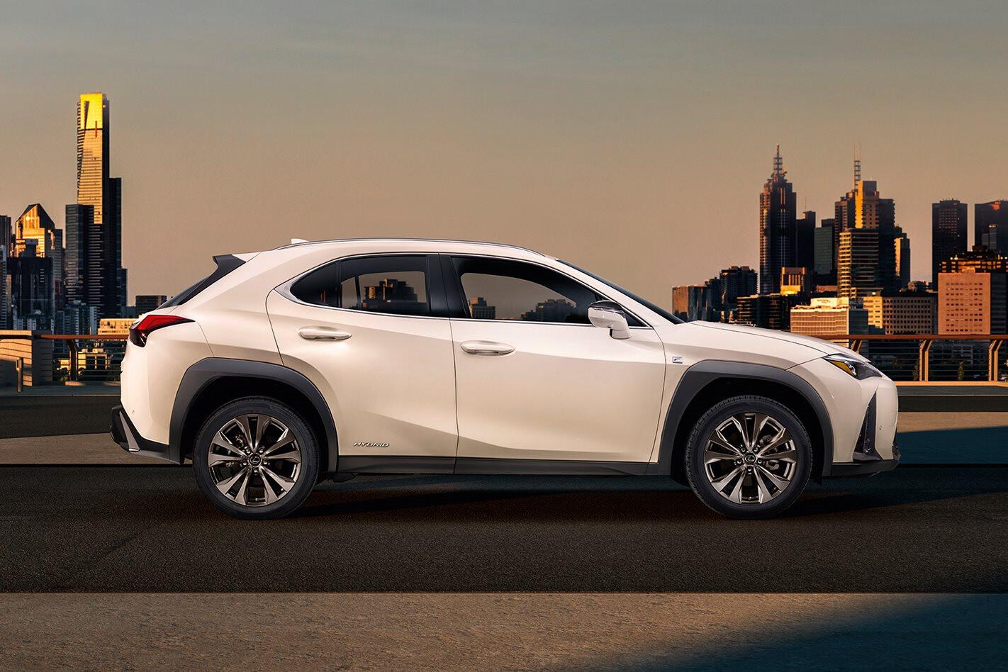 2018 Geneva Motor Show Lexus reveals UX compact crossover