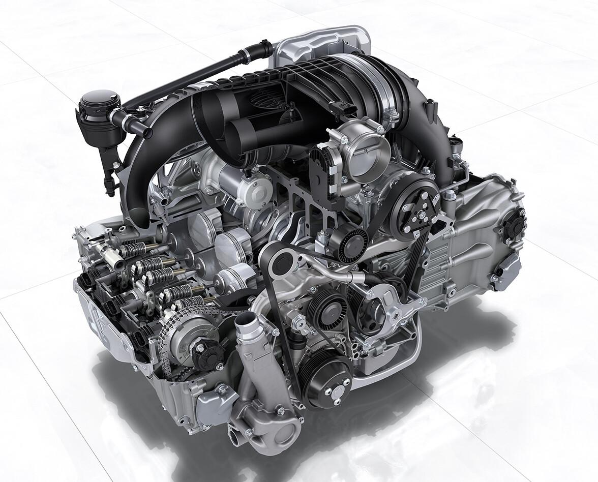 Porsche 911 991.2 GT3 4.0 engine