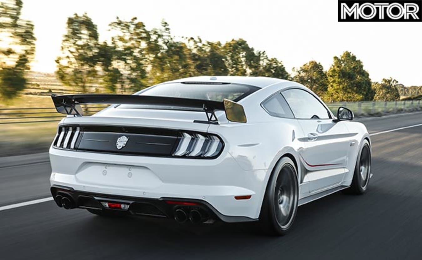 Mustang Dick Johnson Limited Edition rear