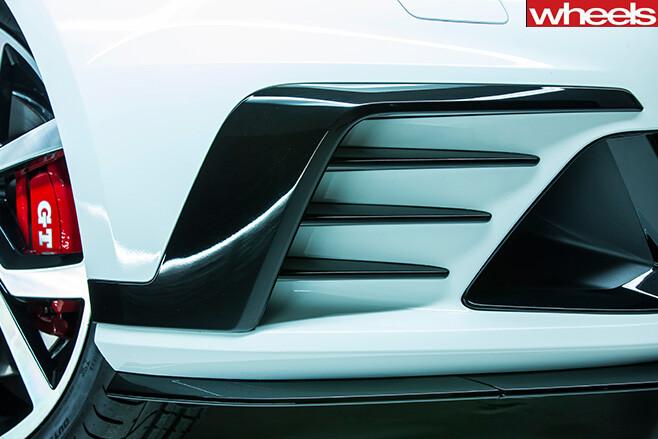 Volkswagen Golf Gti 40 years grill