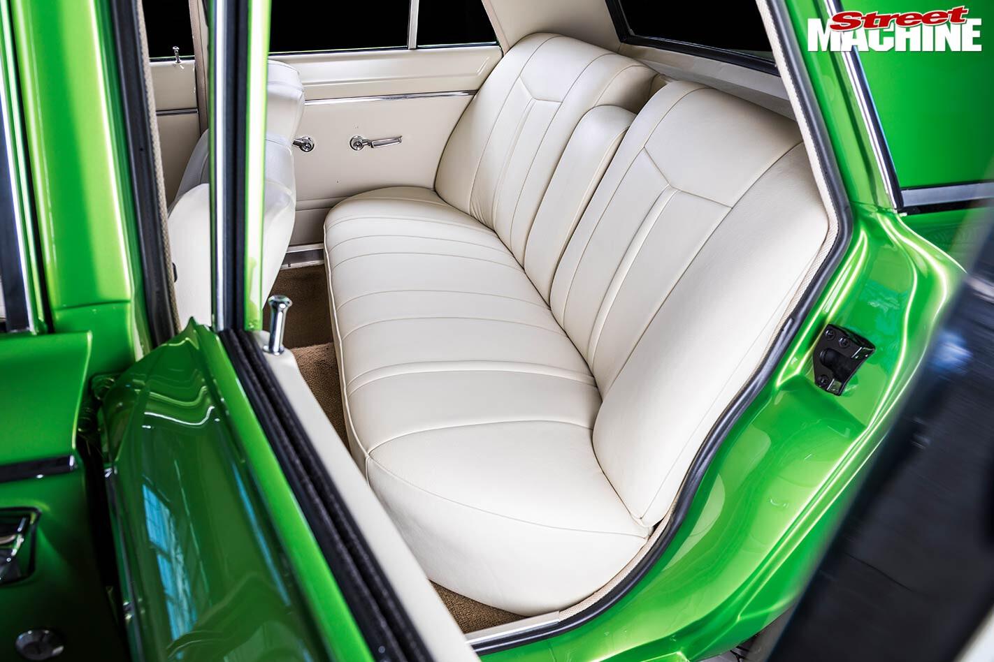 Valiant AP6 interior rear