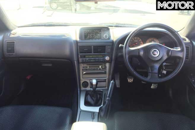 Nissan Skyline GT R V Spec II Interior Jpg