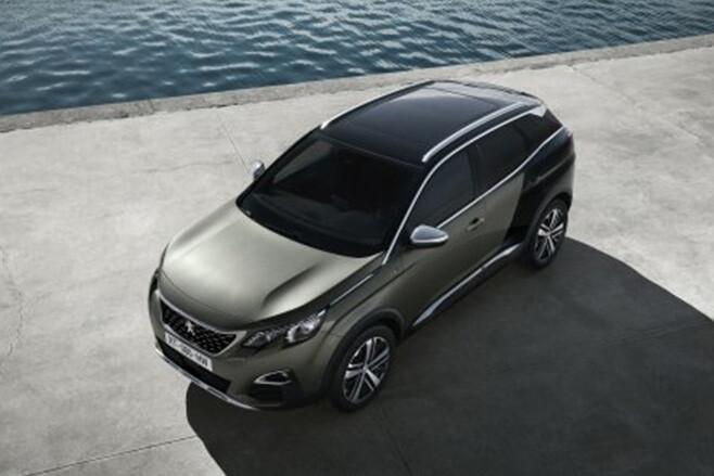 Peugeot 3008 side top