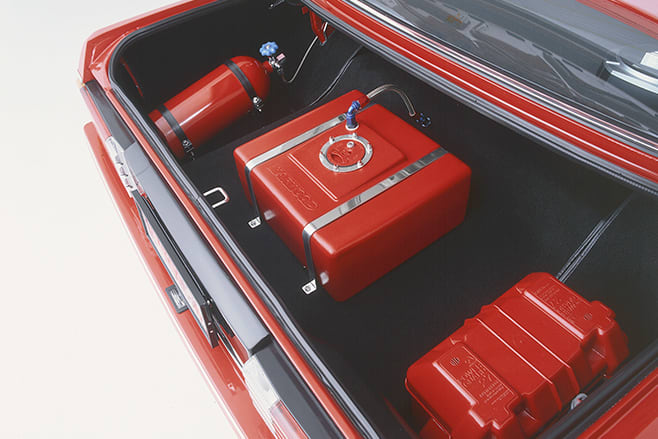 Ford Falcon XD boot