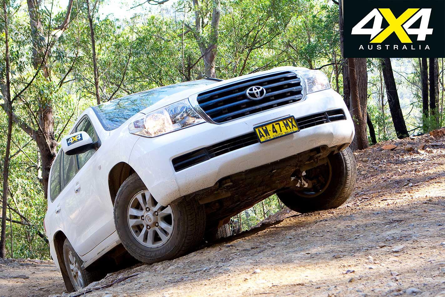 2009 Toyota Land Cruiser 200 Off Road Climb Jpg