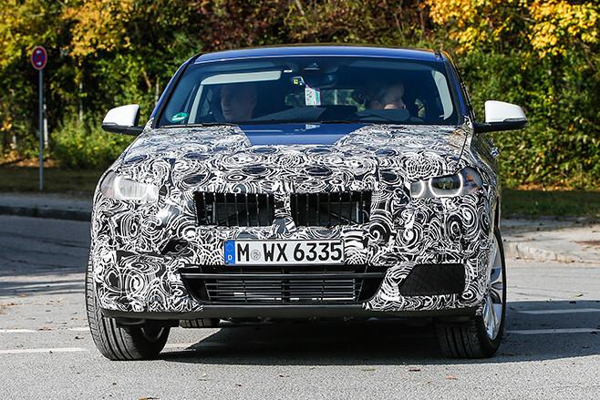 BMW-X2-spy -pic -front