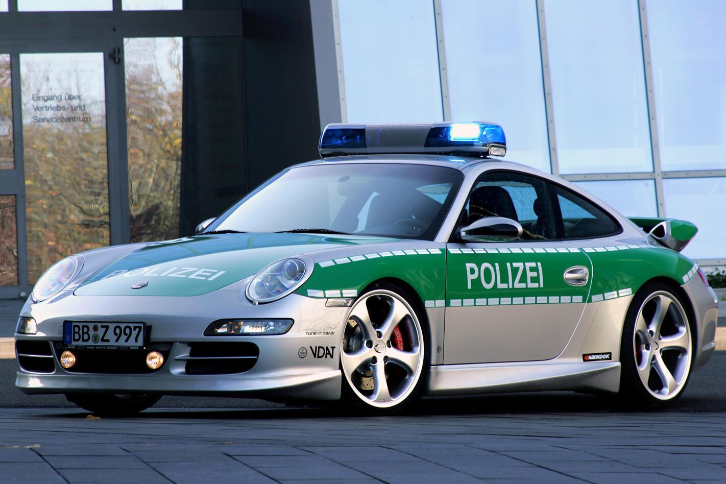 Porsche 911 (997) police