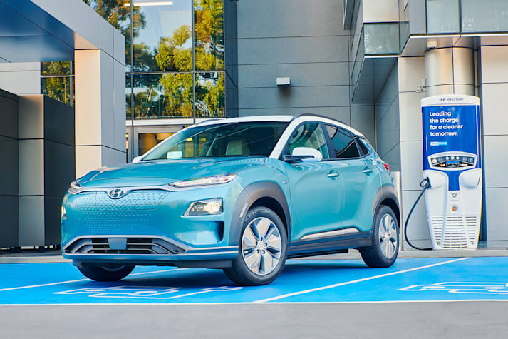 Hyundai Kona Highlander electric