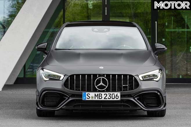 2020 Mercedes-AMG CLA45 front nose