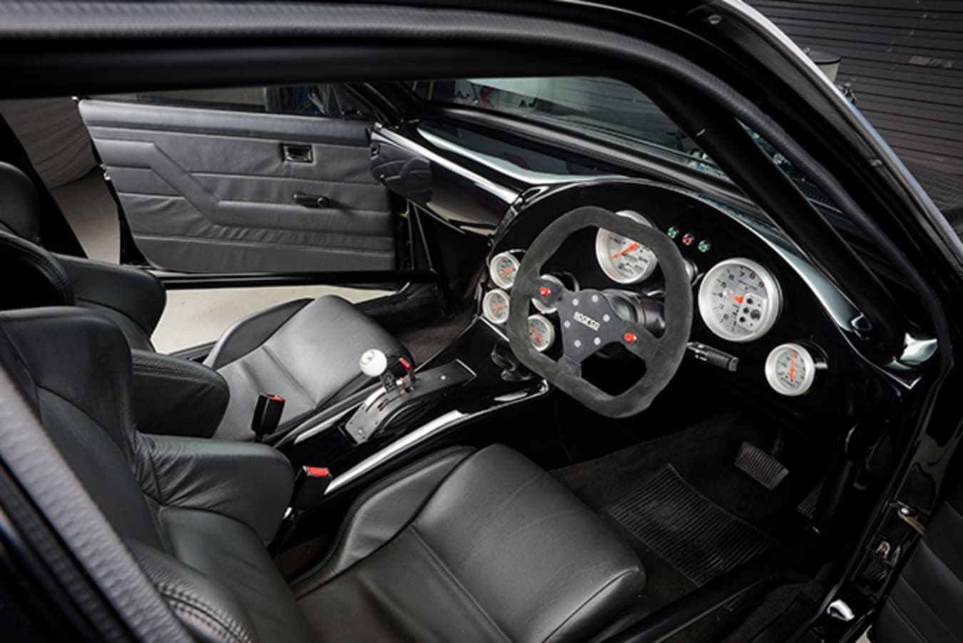 Holden VH Commodore interior front