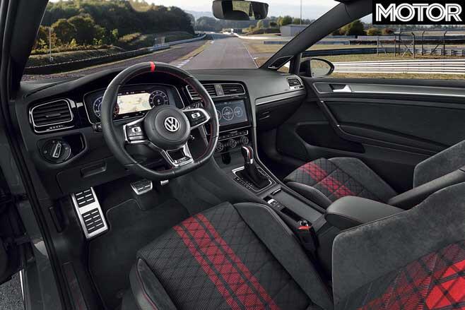 VW Golf GTI TCR Interior Jpg