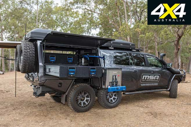 MSA 4 X 4 Toyota Land Cruiser 200 6 X 6 Project Super Cruiser Setup Jpg