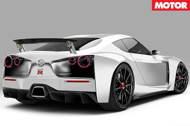 Nissan R36 GT-R rear