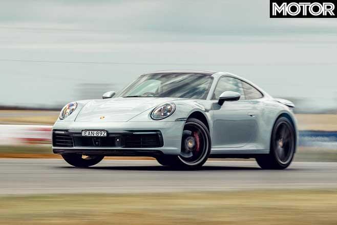 Performance Car Of The Year 2020 Track Test Porsche 911 Carrera S Sideways Jpg