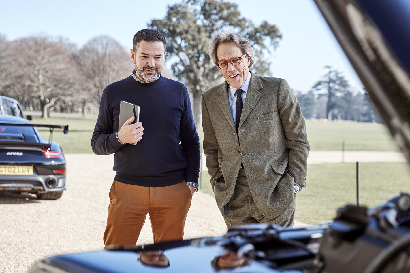 Goodwood Porsche and Land Rover