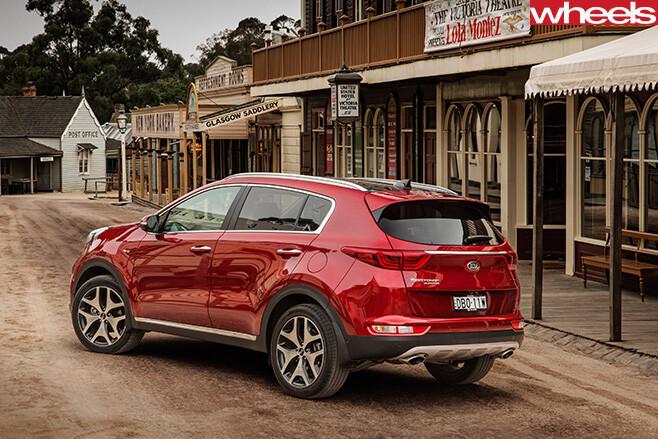 Kia -Sportage -Platinum -rear