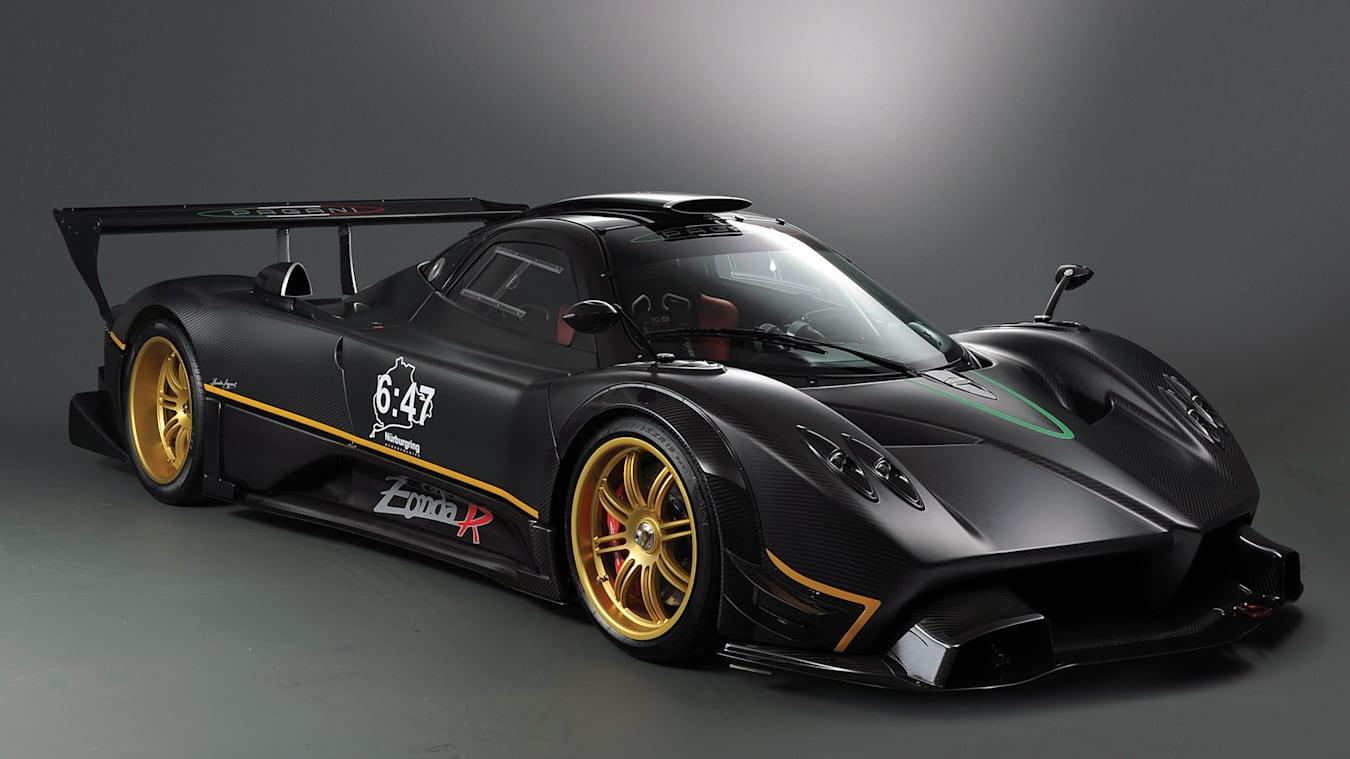 Pagani's last R-branded, track-only hypercar, the Zonda R.