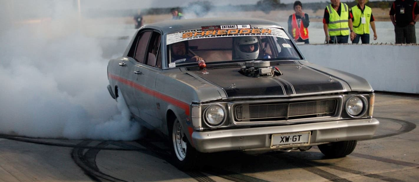 Red CentreNATS burnouts