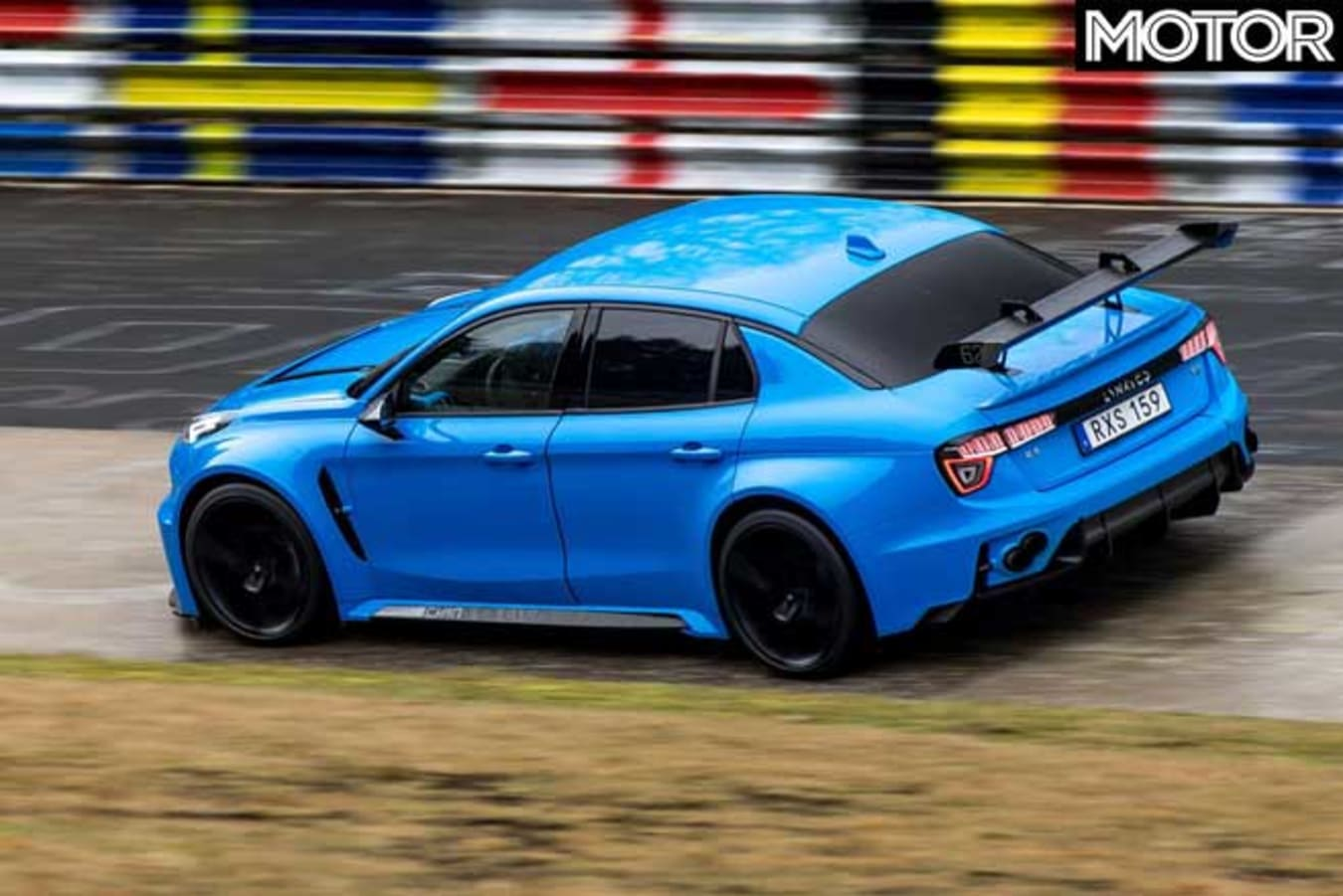 Lynk Co 03 Cyan Concept FWD Nurburgring Record Carousell Rear Jpg