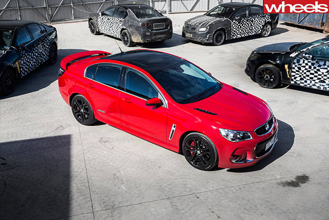 Holden -Commodore -VF-Series -2-top -side-