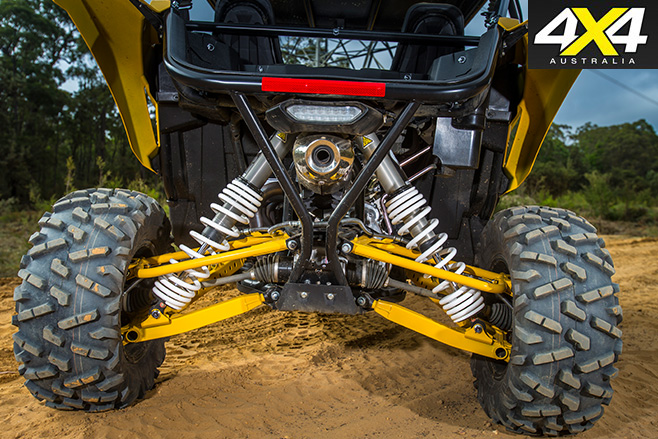 Yamaha YXZ1000R suspension