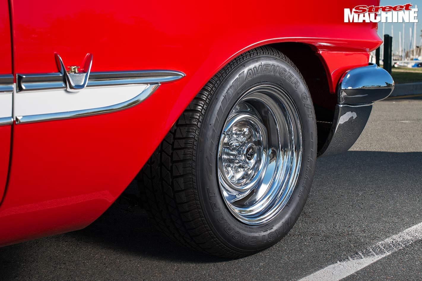 DeSoto wheel
