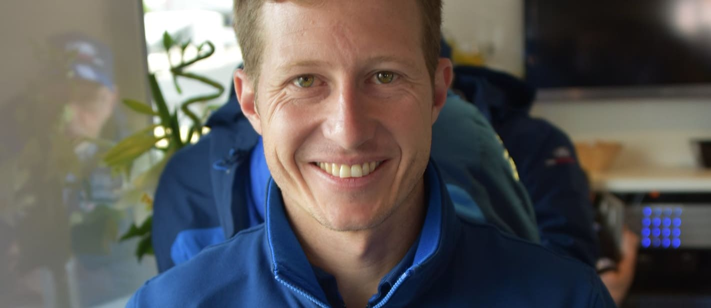 Ryan Briscoe gets ready for Le Mans